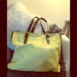 🍋🍋MARNI LEMON YELLOW SHOULDER BAG 🍋🍋